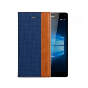 Astrum MOBILE CASE DAIRY FLIP COVER LEATHER BLUE