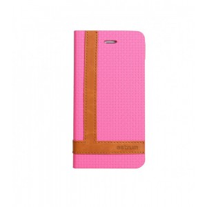 Astrum MOBILE CASE TEE PRO FLIP COVER LEATHER PINK
