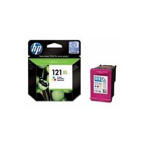 HP 121XL Tri-colour Ink Cart' + Vivera Ink upto 440 pgs @ 5%