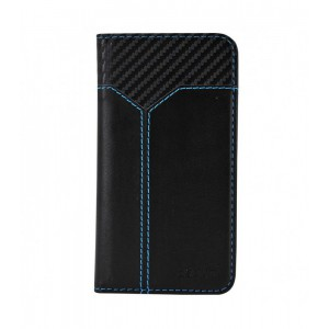 "Astrum MOBILE CASE UNIVERSAL 5.5"" LEATHER SLID BLACK"