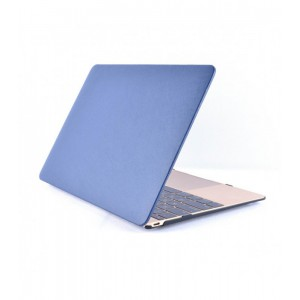 "Astrum LAPTOP SHELL MAC 12"" LEATHER BLUE"