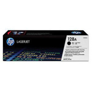 HP 128A BLACK CARTRIDGE FOR CP1525/CM1415,PAGE YIELD 1300
