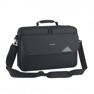"Targus TBC002EU Intellect Clamshell Laptop Case: 15.4"" to 16"" Notebook Classic Clamshell Case Black, Nylon"