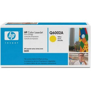 HP 124 Yellow Laserjet- HP CLJ1600/2600/2605 upto 2K pgs
