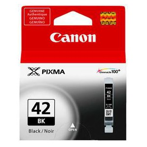 Canon CLI-42 Black Cartridge with yield of 900 pages