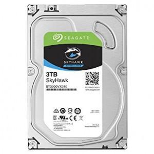 "Seagate SkyHawk ST3000VX010 3TB 64MB Cache 3.5"" Surveillance Internal Hard Drive (HDD)"