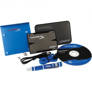 KINGSTON HYPERX 3K 240GB SATA3 SSD KIT