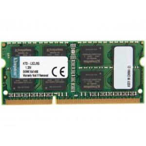 KINGSTON VALUERAM 8GB DDR3L-1600 SODIMM