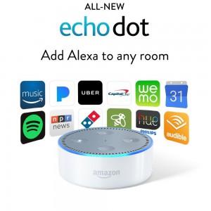 Amazon All-New Echo Dot (2nd Generation) - White