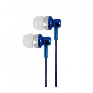 EB250 EARPHONE WIRE MIC 3.5MM BLUE