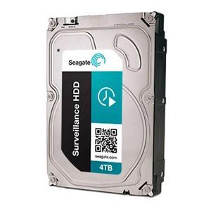 Seagate Surveillance HDD 4TB Serial ATA 600 (6Gbps)