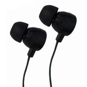 ASTRUM CANDY EARPHONE BLACK + SILVER