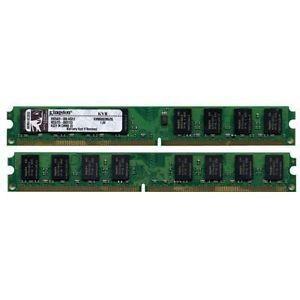 Kingston KVR1333D3N9K3/3  ValueRAM 3GB 1333MHz DDR3 Non-ECC CL9 DIMM Desktop Memory