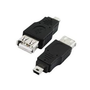 Unbranded ADA006 Mini USB Male To USB Female Adapter