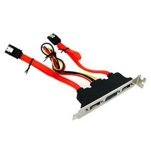 Unbranded ADA015  SATA Adaptor with Power Bracket