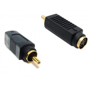 Unbranded CAB045  S-Video  Female To RCA Male Adaptor