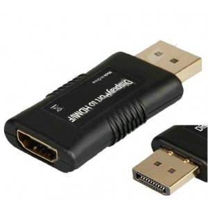 Unbranded DIS002  Display Port Male to HDMI Female Connector