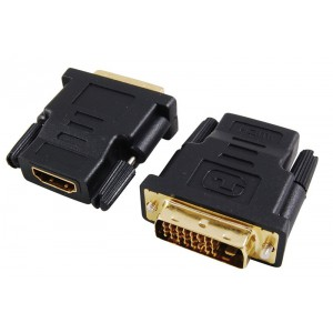 Unbranded DVI006 DVI Male to HDMI Female Adapter