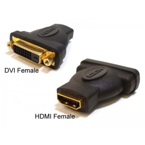 Unbranded DVIHDMI DVI Female to HDMI Female Connector