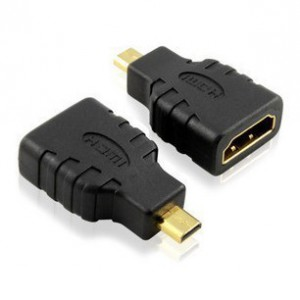 Unbranded HDM040  Micro HDMI Male to HDMI Female  Connector