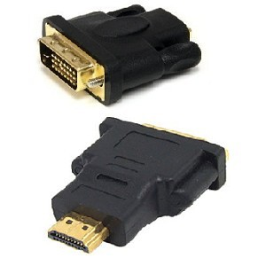 Unbranded ADA019  DVI (24+1) Male to HDMI Male Adapter