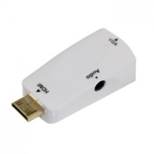 Unbranded CON008 HDMI Male to VGA Female Adapter