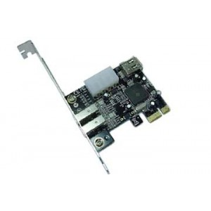Unbranded E0002 Firewire 1x4 Pin and 3x6 Pin PCI-e Card