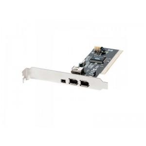 Unbranded FWR001 3x Firewire (2 Standard +1 Mini) PCI Card