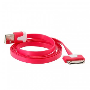 Unbranded REDIP iPhone 4s Charging Cable -Red