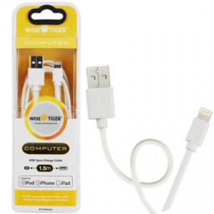 Wise Tiger USB010 USB Lightning Cable 1.5m for Apple