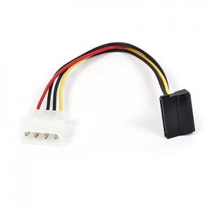 Unbranded CAB064  Power Molex to SATA 90 degree L Shape