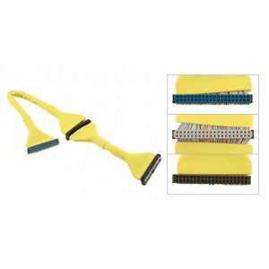 Unbranded IDE-YEL  Round IDE Cable Yellow