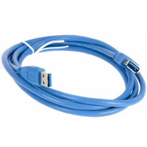Unbranded USB3-A-MF-1.8M USB 3.0 Male to USB 3.0 Female Extension Cable 1.8 m Long