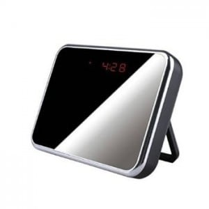 Unbranded CAM005  Night Table Mirror Spy Clock DVR Camera