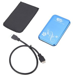 "Unbranded USB3-EXT-BLU External 2.5"" Chassis SATA USB 3.0 Type A Blue"