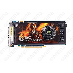 ZOTAC GeForce 8800 GT DirectX 10 ZT-88TES3P-FCP 512MB 256-Bit GDDR3 PCI Express 2.0 x16 HDCP Ready SLI Support Video Card