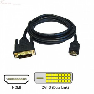 Unbranded CAB053 HDMI to DVI Cable 10 m Long