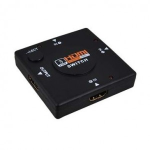 Unbranded HDMSWI  HDMI Switch 3x Input and 1x Output