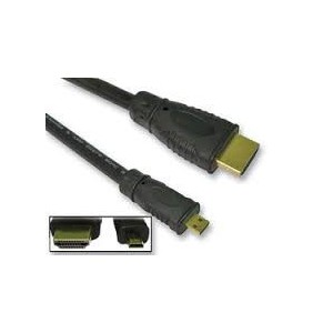 Unbranded HDM001  Micro HDMI to HDMI Cable 1.5m