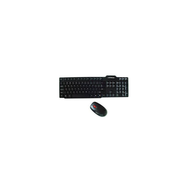 unbranded wircom wireless ultra thin keyboard and mouse combo usb. Black Bedroom Furniture Sets. Home Design Ideas