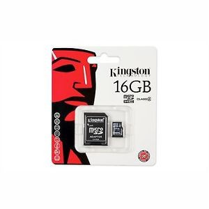 Kingston FLKTSDC2/16GB Micro SD 16GB HC Memory Card