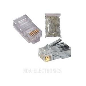 Microworld RJ45 Connectors (100 Pack)