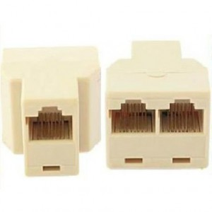 Unbranded RJ45 Splitter (ONE DEVICE AT A TIME)