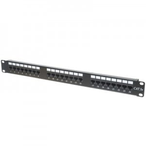 Unbranded RCK-24-CAT5 Patch Cat5 24 Port Populated