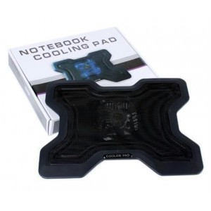 Unbranded NBC08BK Notebook Cooling Pad Z-009/8503 Black