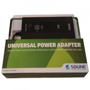 Unbranded CHG-1 Auto Notebook Charger 3 in 1( Car+home)