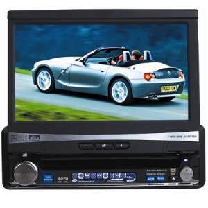 "Microworld Car 7"" DVD Player / Radio"
