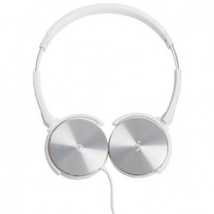 Hoomia U3CLASSICWS  Headphone with Microphone White and Silver