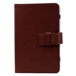 """Unbranded CAS-BR Tablet Case 7"""" Brown"""