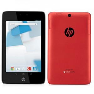 "HP Slate 7"" 8GB Red Tablet - Dual Core, 1GB RAM, ARM A9"
